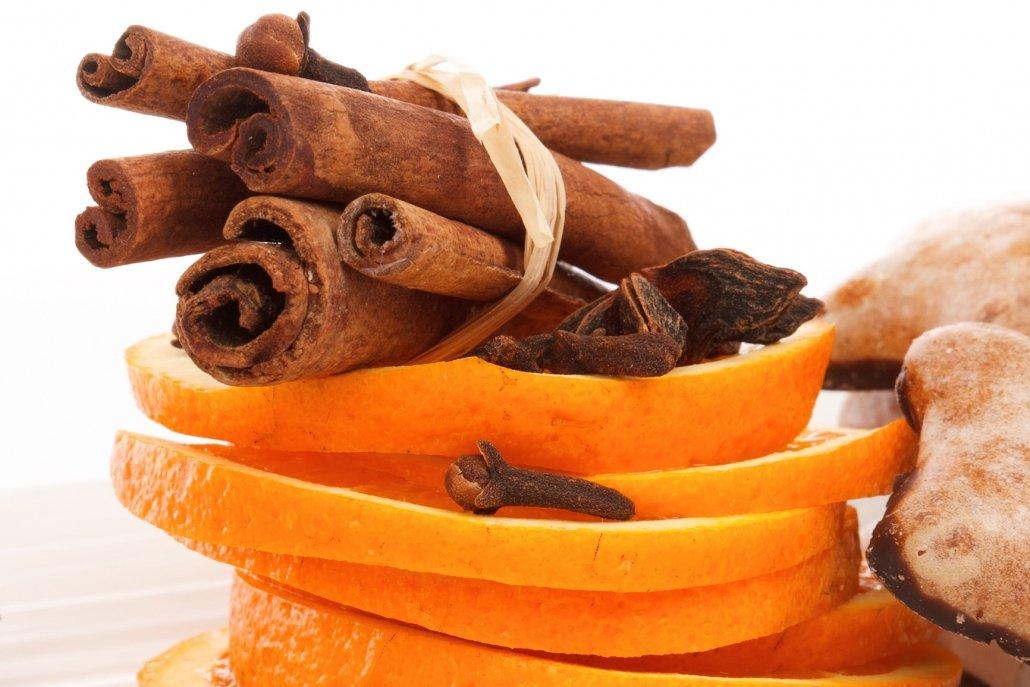 Essenze per diffusori frutta arancia e cannella