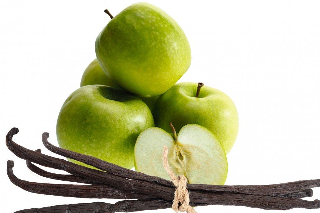 Essenze per diffusori frutta mela e vaniglia