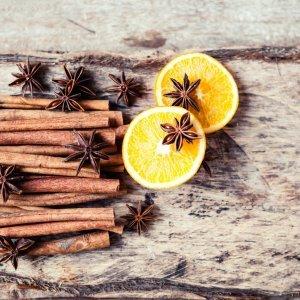 Fragranze ambiente arancia e canella