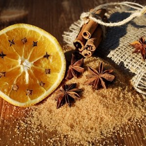 Fragranze frutta Arancia e Cannella