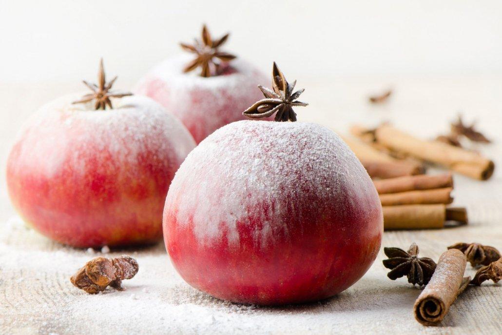 Essenze natalizie per diffusori mela invernale