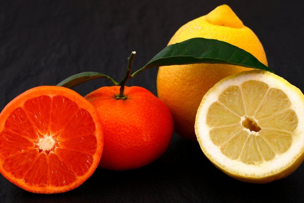 Essenze per diffusori frutta limone e mandarino